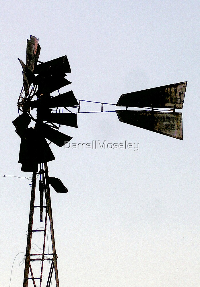 OLD WINDMILL by DarrellMoseley