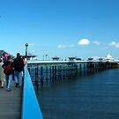 Along the Pier by Kate Eling