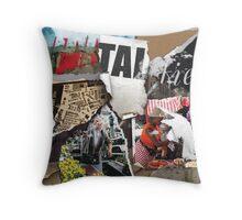 Spitalfields Market Throw Pillow