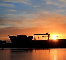 Harland & Wolff Sunrise by Wrayzo
