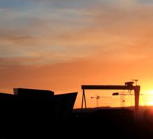 Harland & Wolff Sunrise Sticker