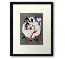 Woof! Framed Print