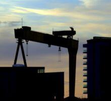 Harland & Wolff Silhouette Sticker