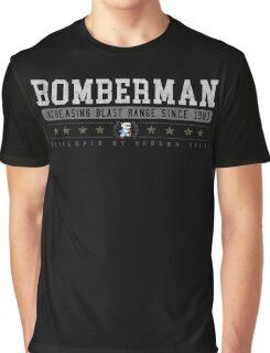 Bomberman - Vintage - Black Graphic T-Shirt