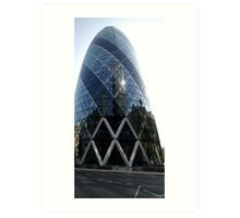 Gherkin - London Art Print