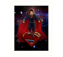 Superman: Man Of Steel Art Print