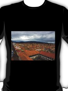 Rooftops Of Cuenca IV T-Shirt