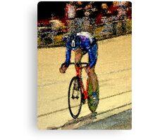 Final sprint Canvas Print