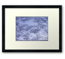 Frosted glass 4 Framed Print
