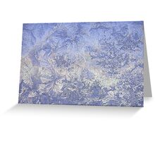 Frosted glass 6 Greeting Card