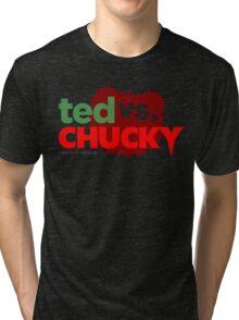Ted vs. Chucky Tri-blend T-Shirt