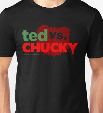 Ted vs. Chucky Unisex T-Shirt