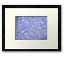 Frosted glass 8 Framed Print