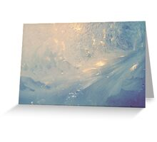 Frosted glass 9 Greeting Card