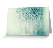 Frosted glass 10 Greeting Card
