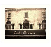 BrooksAtkinson Theatre Art Print