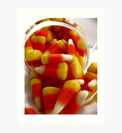 Candy Corn Art Print