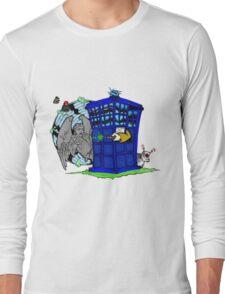 Doctor Who versus Enemies Long Sleeve T-Shirt