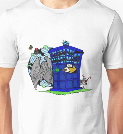 Doctor Who versus Enemies Unisex T-Shirt