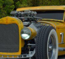 1931 Ford Model A Sedan Rat Rod Sticker