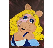 Miss Piggy Stardust Photographic Print