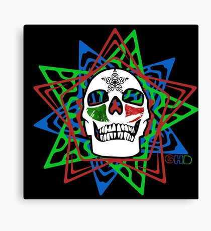 Star//Skull//Ruin  Canvas Print