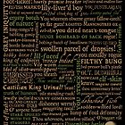 Shakespeare Insults T-shirt - Revised Edition (by incognita) by Sally McLean