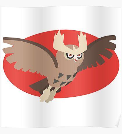 Noctowl - 2nd Gen Poster