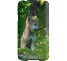 Timber Wolf Pup Samsung Galaxy Case/Skin