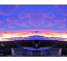purple sky by ndru