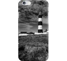 St John's Point, Lighthouse Mono iPhone Case/Skin
