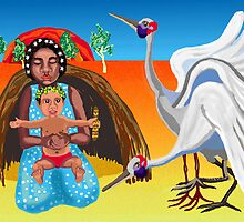 Outback Nativity by goanna