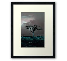 The Rihanna Tree, Angry Framed Print