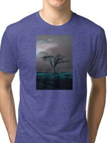 Rihanna Tree, Angry Tri-blend T-Shirt