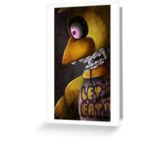 Old Chica the Chicken Greeting Card