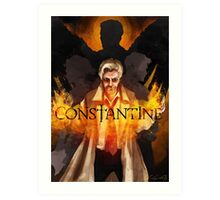 CONSTANTINE - Main Suspects Art Print