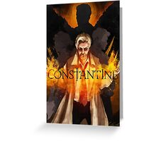 CONSTANTINE - Main Suspects Greeting Card