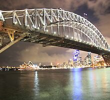 Harbour Bridge After Dark by king611