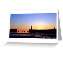 Donaghadee Sunrising Greeting Card