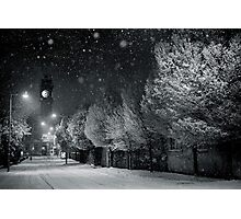 Christmas - Rathmines - Dublin - Ireland. Photographic Print