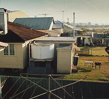 Backyards of Kempsey by Lachlan Kent