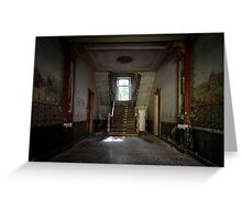 Derelict Chateau Belgium - Chateau Dah Greeting Card