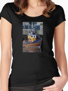 Gone Fishing Women's Fitted Scoop T-Shirt