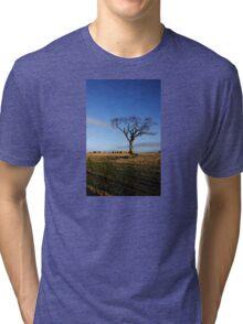 The Rihanna Tree And Bales Tri-blend T-Shirt