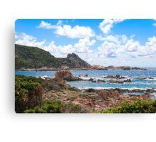Campo Moro Corsica Canvas Print
