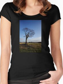 The Rihanna Tree, Alive! Women's Fitted Scoop T-Shirt