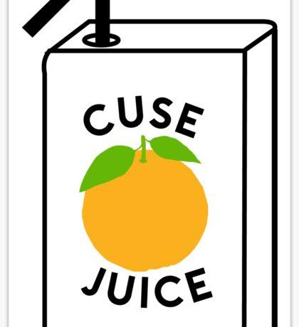 Cuse Juice  Sticker