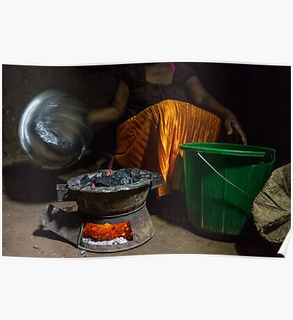 Malawian Dinner Prep Poster