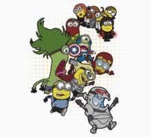 Minions Assemble Age of Mintron Kids Clothes