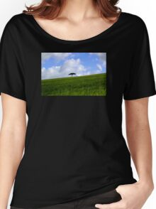All Alone Women's Relaxed Fit T-Shirt